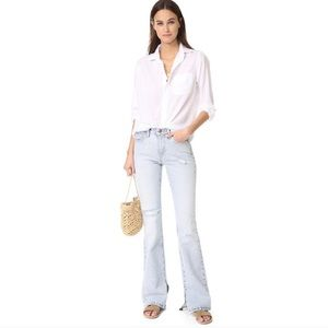 Current/Elliott The High Rise Bootcut Flare Jeans